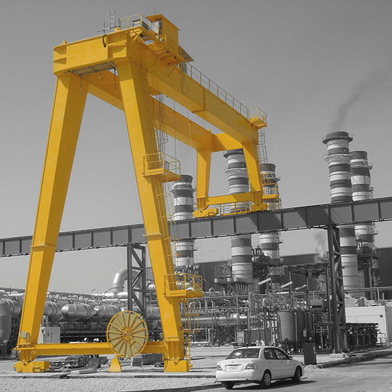 Michielotto Semi Gantry Crane